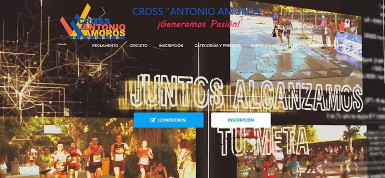 El Cross Antonio Amorós estrena nueva página web